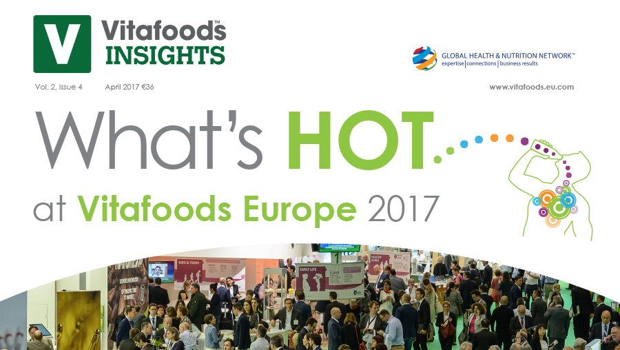 What's Hot at Vitafoods Europe 2017