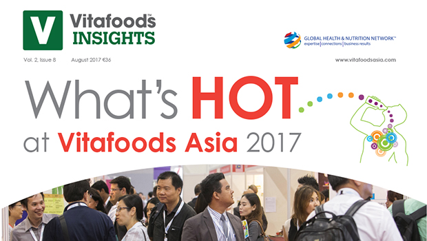 What's Hot at Vitafoods Asia 2017