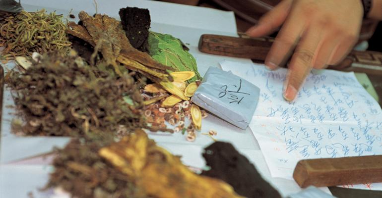 Traditional Chinese medicinal botanicals
