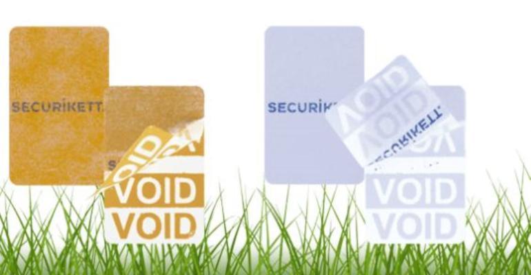 Securikett VOID sustainable safety seal