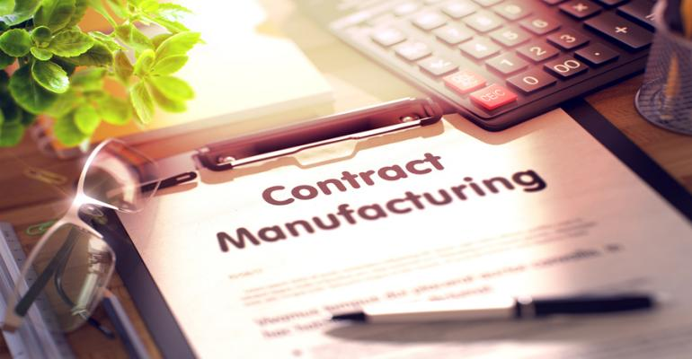 contract manufacturing is gaining importance
