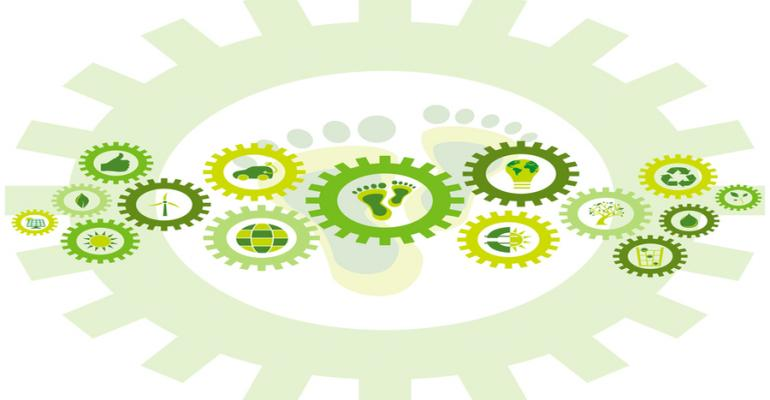 gears showing sustainable concepts