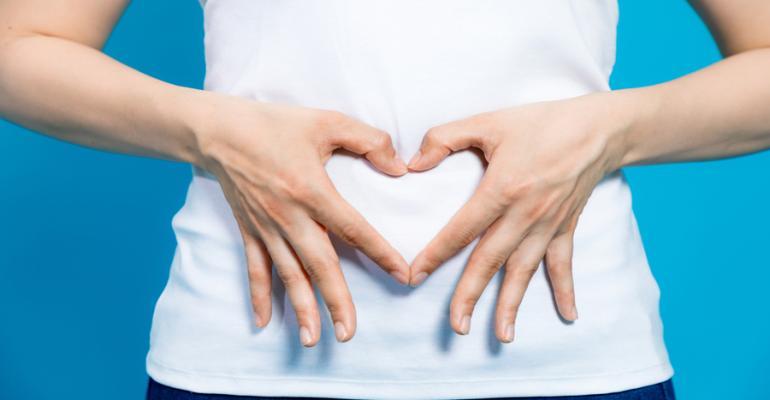 Gut health heart image