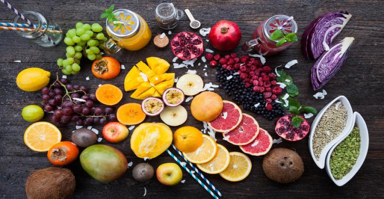 antioxidant potential of fruits and vegetables