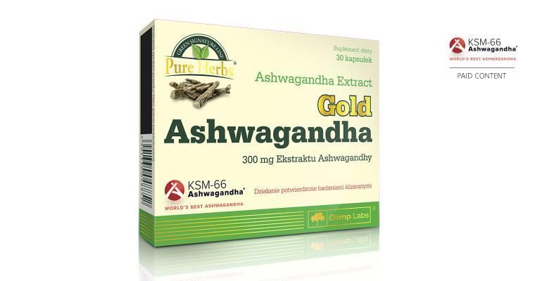 Olimp Labs KSM-66 ashwagandha supplement