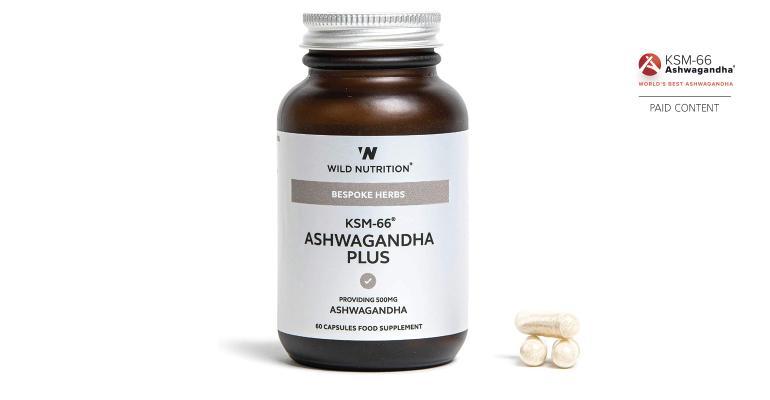 Wild Nutrition KSM-66 ashwagandha