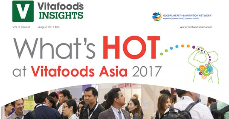 Whats Hot at Vitafoods Asia 2017