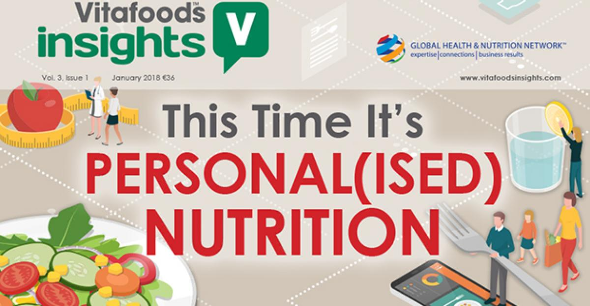 This Time It's Personal(ised) Nutrition