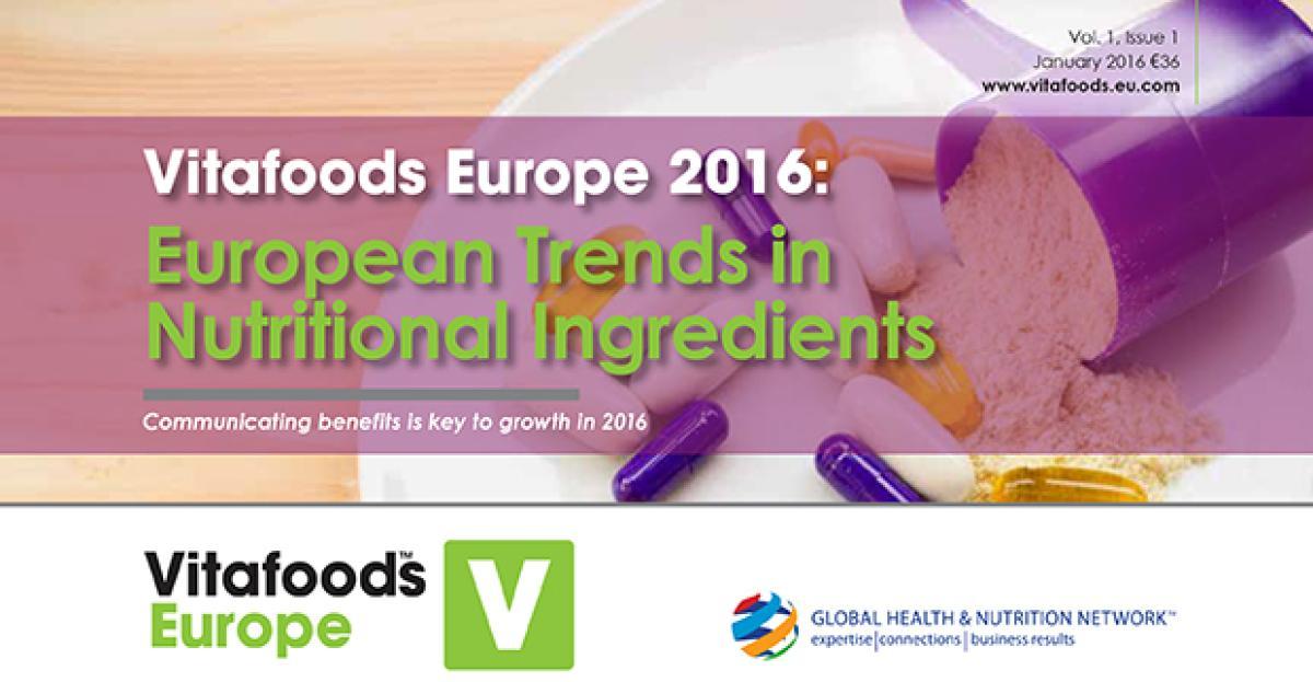 European Trends in Nutritional Ingredients